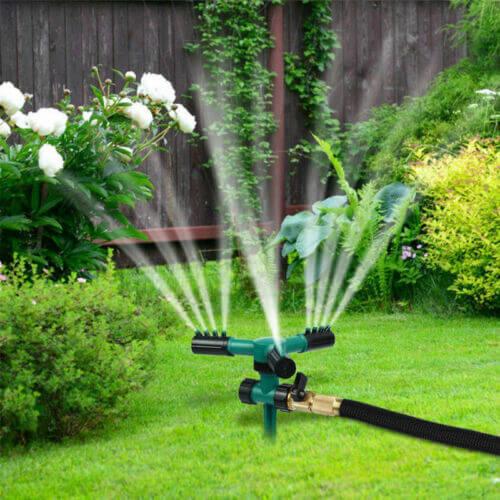 fontanería en jardines